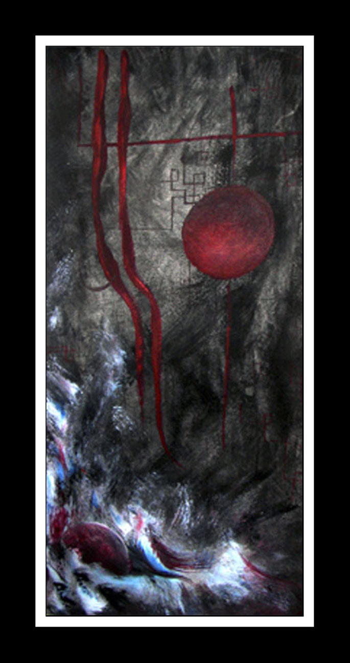 Hesitation    - Abstarct/modern art print Contemporary Art