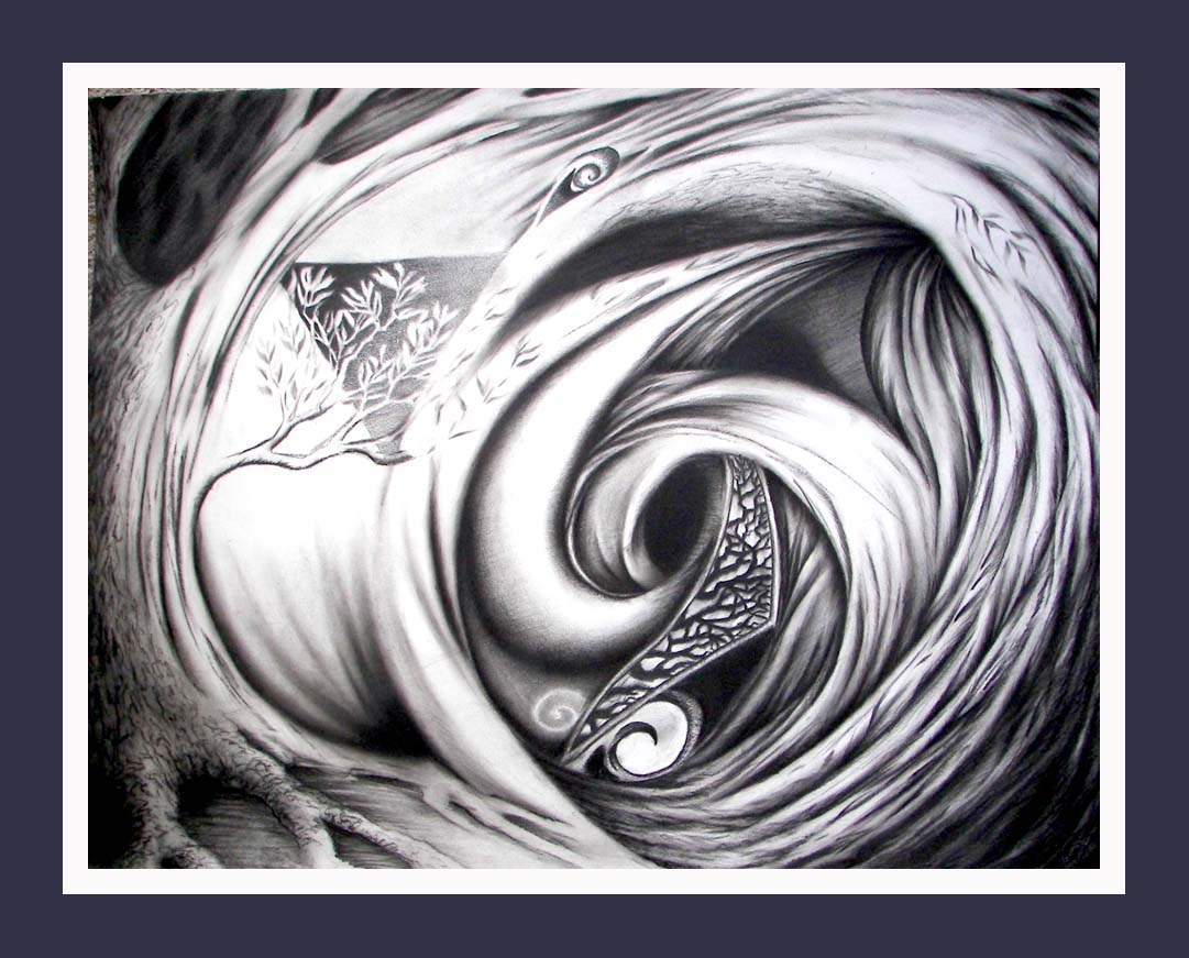 Mortal Wind 1 --  Abstract, Contemporary Art