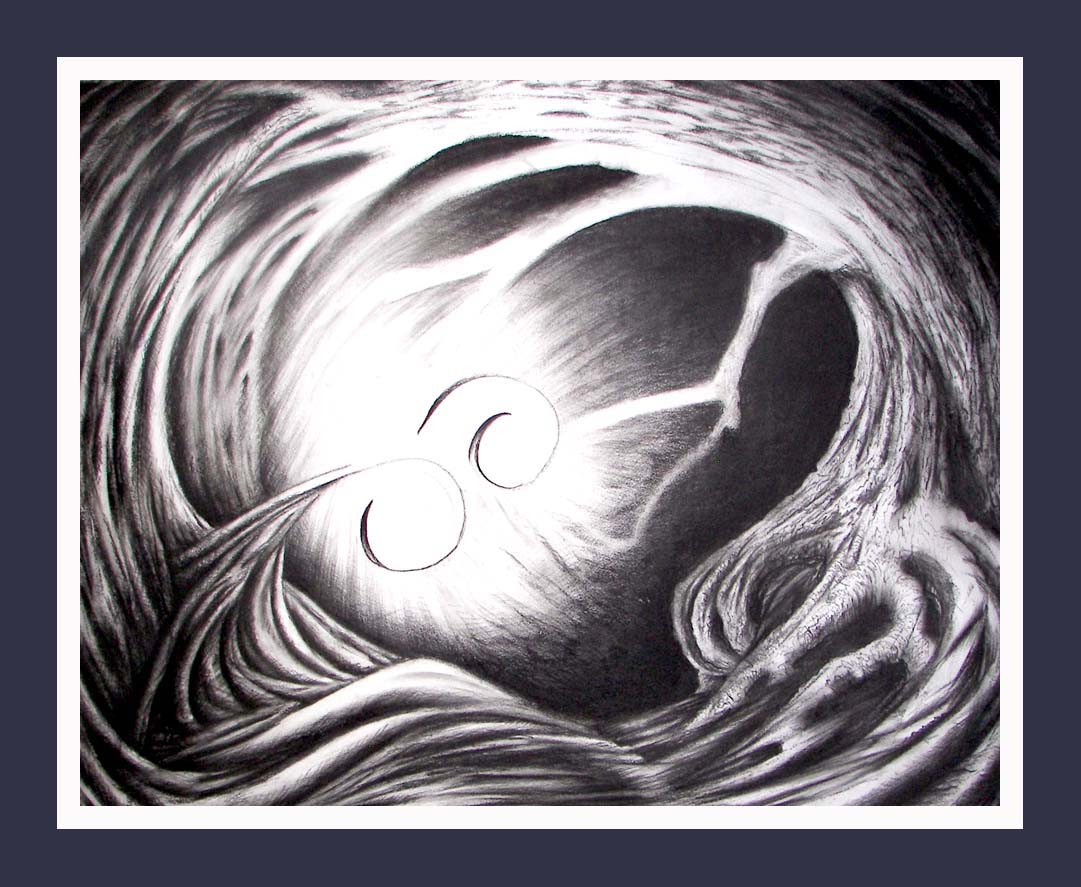 Mortal Wind 2 -- Abstract, Contemporary Art