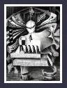 Spirit_OF_Man -- Cubism/Abstract/Surreal fine art print, or poster, Contemporary Art