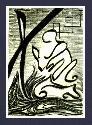 Wind_Prayer    - Abstract, figural fine art original, poster, or print Contemporary Art